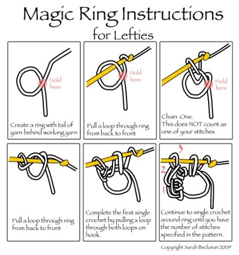 free crochet magic ring instructions and bonus patterns crocheted magic ring a how to tutorial