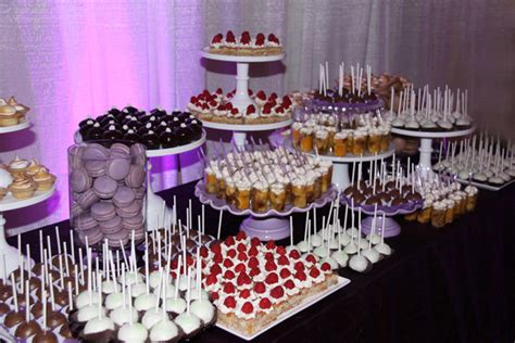 wedding dessert table bistro sel