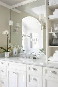 White Bathroom Cabinet Ideas by Vancouver Interior Designer Which Pulls Knobs Should You
