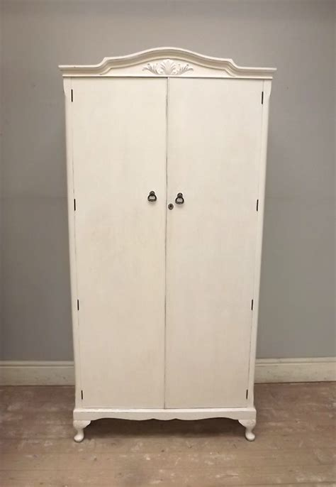 Small White Wardrobe If2558 Small Vintage Painted Wardrobe C 1950s