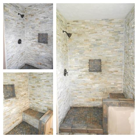 stone shower bench gray stone shower with bench grey stone shower with bench