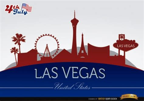 Background Check Las Vegas Las Vegas City Buildings Background Vector Free