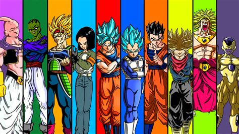dragon ball universe wallpaper universe 7 team full hd wallpaper and background image