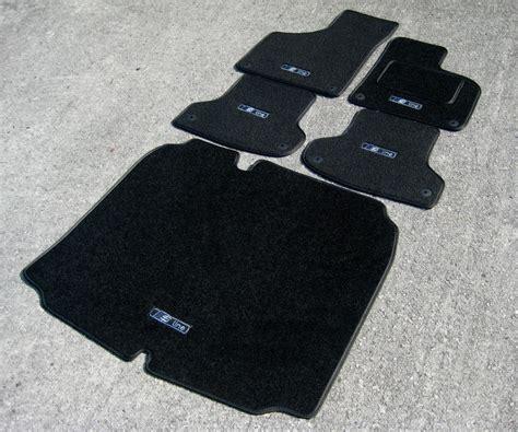 black edition car mats audi a3 8p 03 12 boot mat