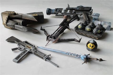 Weapon Papercraft - steam community tournament of the year edition