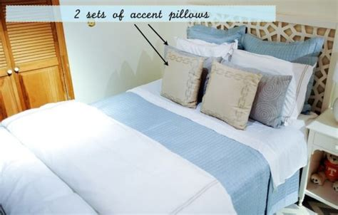 order of pillows on bed styling your bed a guide to duvets shams and quilts