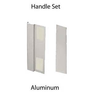 sliding door cover plate and pull aluminum c 1062