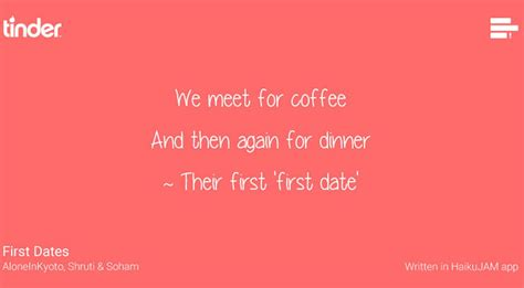 First date love poems
