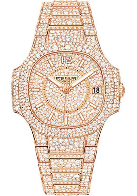 Patek Philippe 7021/1R 001 Nautilus Ladies Rose Gold Watch