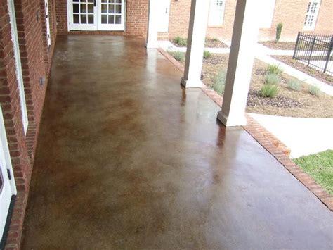 ways  add character   concrete porch concrete