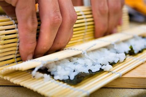 How To Roll Sushi Without Bamboo Mat by Vegetarian Sushi From The Grapevine