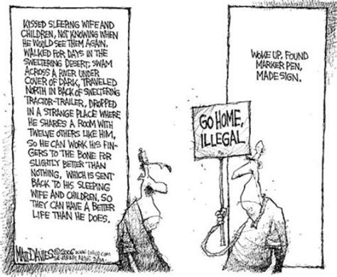 political cartoon about illegal immigration student political cartoons immigration political
