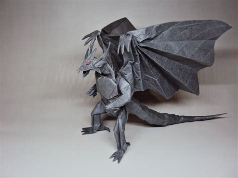 Bahamut Origami - the world of videogame origami part 1