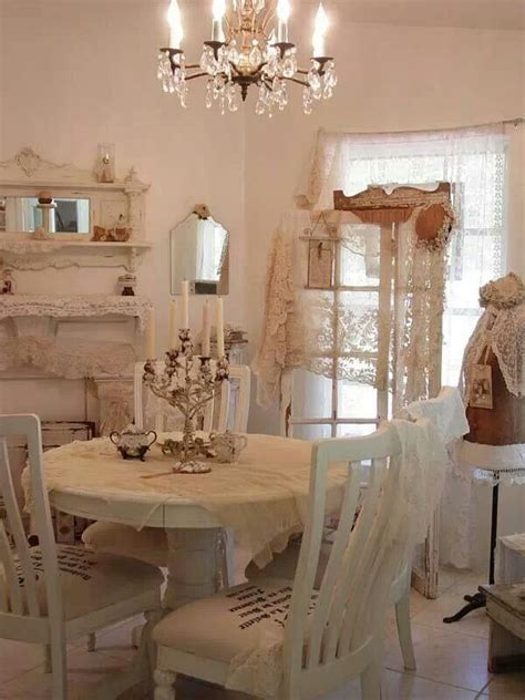white dining room country shabby chic pinterest