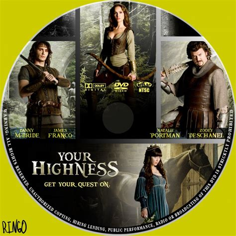 Cover Your by Your Highness Custom Dvd Labels Your Highness Cd