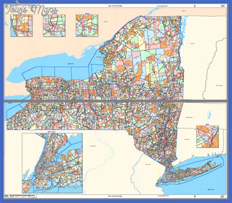 zip code map new york city new york map zip codes toursmaps com