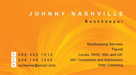 bookkeeper business cards templates org bookkeeper business card noupe