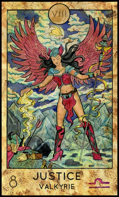 Where Can I Get A Justice Gift Card - tarot oracle answer justice fantasy deck cafe astrology com
