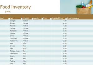Home Pantry Inventory Software by Food Inventory Food Inventory Spreadsheet