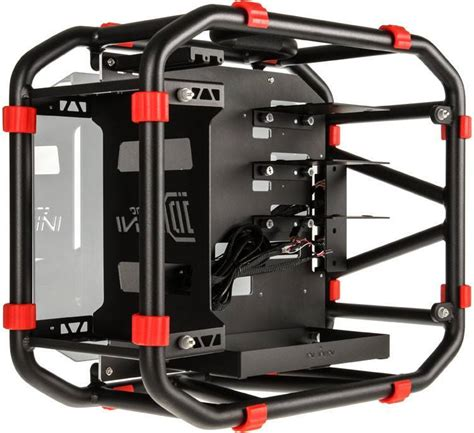 Aerocool Casing Xpredator Cube Orange d frame mini pc w carry handle gadgetify