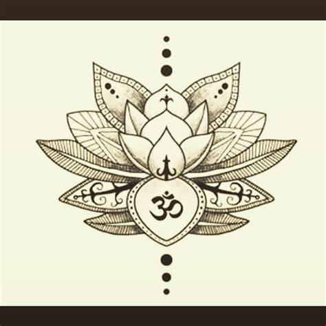 mandala lotus om tattoo on instagram