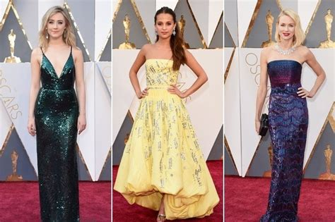 Dresses Ruled At The Oscars Get The Look For Less by Best Dressed At The 2016 Oscars Stylebistro