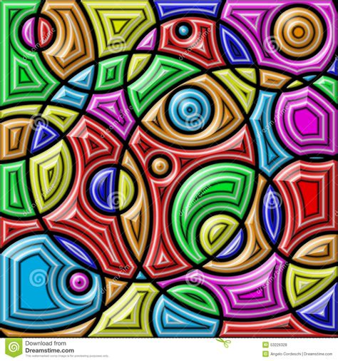 colorful shapes colorful shapes royalty free stock photography