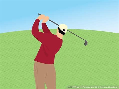 calculate  golf  handicap  steps