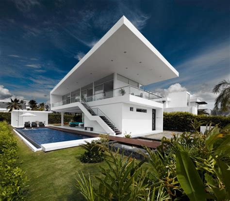 cool architecture houses residence in colombia displaying a minimalist design
