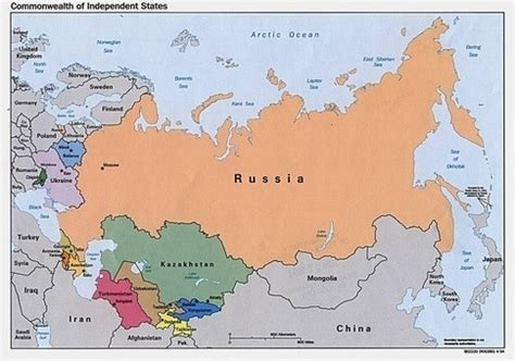 russia neighbours map how many countries does russia border quora
