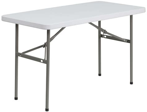 White Plastic Folding Table Granite White Plastic Folding Table From Renegade Ycz 122 2 Gg Coleman Furniture