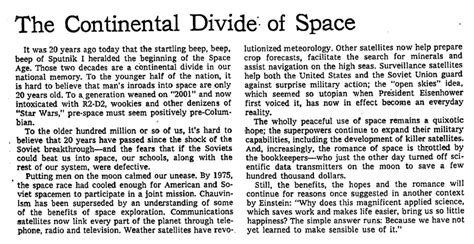 Space Race Essay by Throwback Thursday The Space Race The New York Times