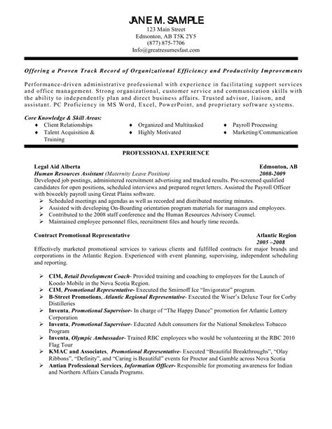 Objective Exles Resume by General Resume Objective Exles Berathen