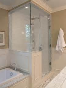 Half Bath Shower Creed After E Design Bathroom Project Part 2