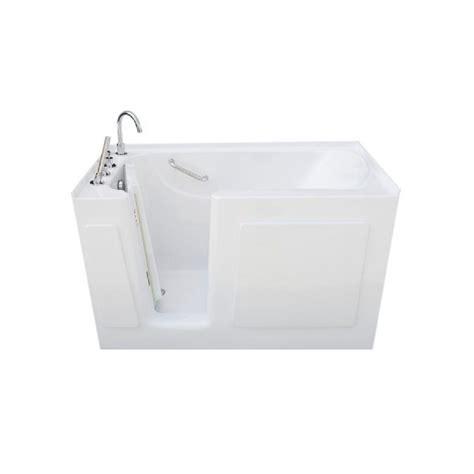 5 foot whirlpool bathtub 4 5 ft rectangular left drain walk in non whirlpool tub