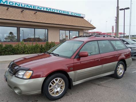 subaru outback 60000 mile service cost 2002 subaru outback 3 0h6 llbean limited 06 13 14 price