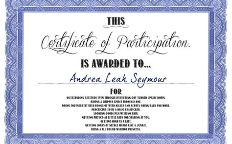 free certificate of participation template free certificate of participation templates besttemplates123