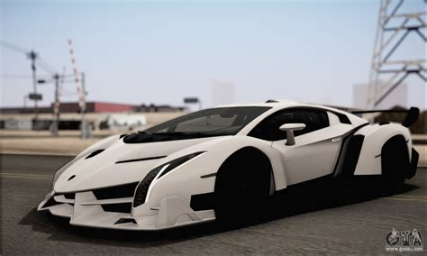 lamborghini veneno back lamborghini veneno lp750 4 white black 2014 hqlm for gta