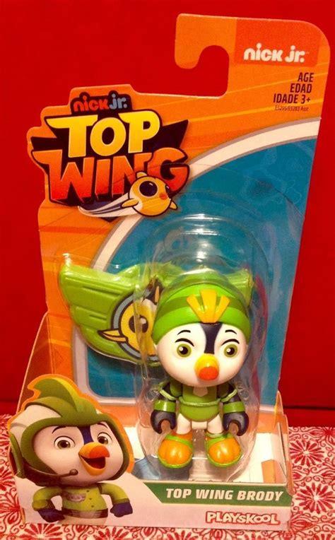 playskool nick jr top wing brody single figure  moc