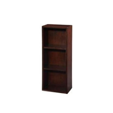 home depot bookshelves wall ryvyr indus 12 in w wall cabinet with 3 shelves in