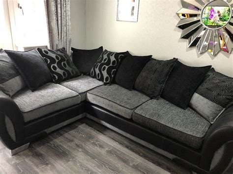 Snuggle Corner Sofa by Fabric Corner Sofa And Cuddle Chair In Clifton