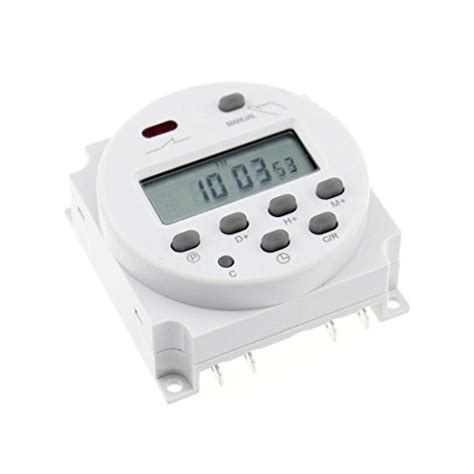Timer Digital Programmable Listrik 220v 16a 2000 W Max 1pcs cn101 ac 220v digital lcd programmable timer ac 220v 16a time timer relay switch buy