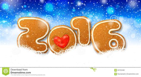 New Year Card Template 2016 by 2016 New Year Greeting Card Template Stock Vector Image