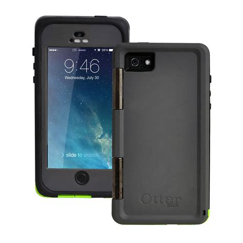 Iphone Iphone 5 5s Olzon Cover new otterbox armor series waterproof phone for apple iphone 5 5s se green ebay