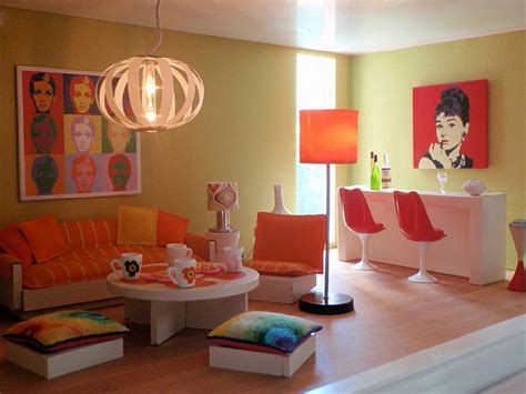 Living Room Accessories Orange Decorating With Orange How To Incorporate A Risky Color