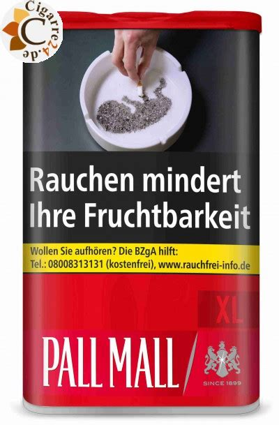 mall reds pall mall red xl 75g british american tobacco pall