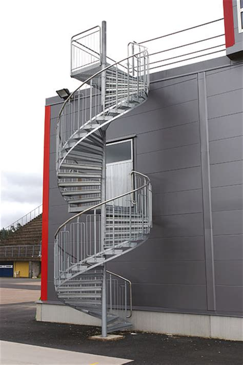 Blueprint For Houses spiral staircases for rescue and industry weland ab