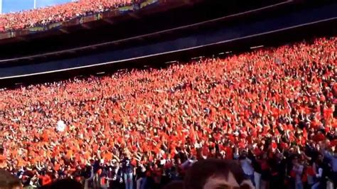 auburn student section auburn student section iron bowl 2013 youtube