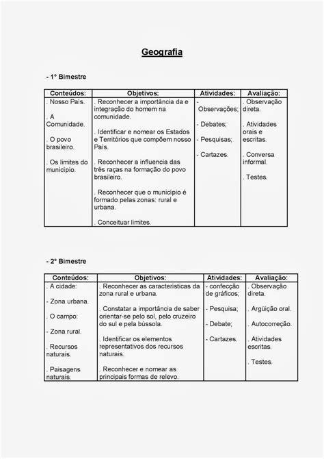 PLANEJAMENTO ANUAL 4° ANO - ENSINO FUNDAMENTAL