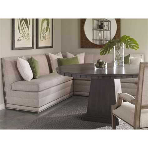 Table With Banquette Seating by Corner Banquette Dining Sets With Fabric Corner